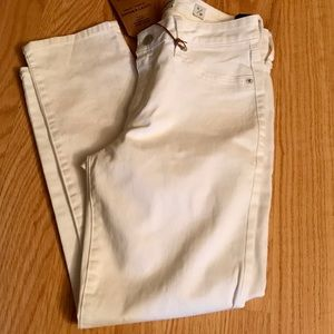 NWT Lucky Brand Lolita Crop White Jeans
